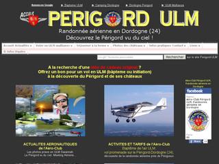 Aéro-club Périgord ULM, Baptemes de l'air, vol d'initiation, perfectionnement au pilotage. Stage découverte, chèque cadeau